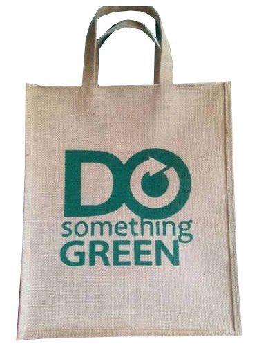 Printed Natural Jute Bag