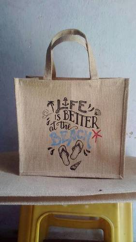 Customized Jute Beach Bag
