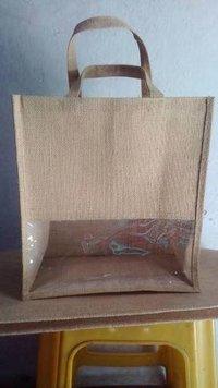 Jute Bag With Window