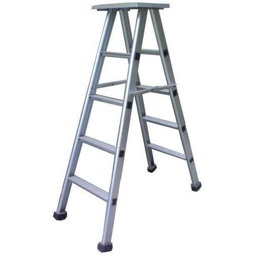 Aluminium Self Supporting Stool Ladder