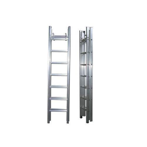Double Side Extend Folding Steel Ladder