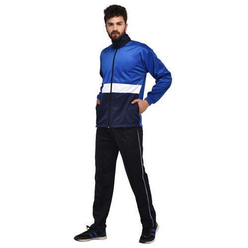 Full Leg Zip Tracksuit Bottoms