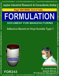 Adhesive Based On Vinyl Acetate Making