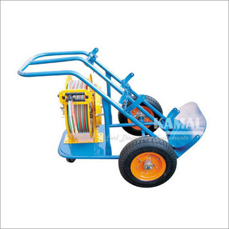 Trolley Gas Hose Reel