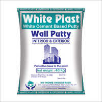White Plast Wallcare Putty
