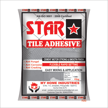 Star Tile Adhesive