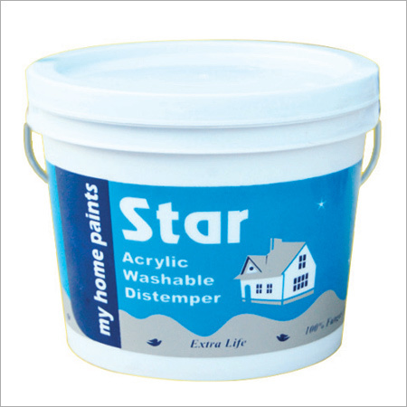Star Acrylic Washable Distemper