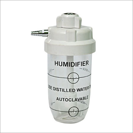 Humidifier Bottle (White Cap) With Hand Tight Nut