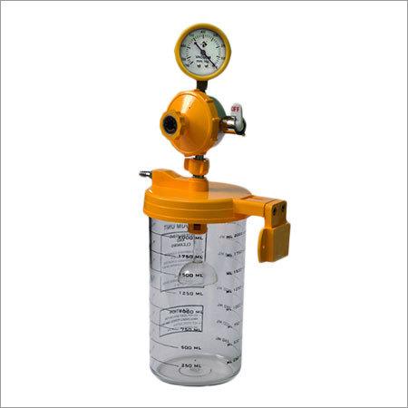 Ward Vacuum Jar with 2.5inch Regulator 2000ml