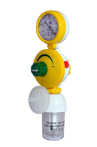 Ward Vacuum Regulator With Safety Jar & Anti-Bacteria Filter
