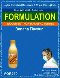 Banana flavour making