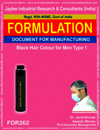 Black hair colour for men type 1 making