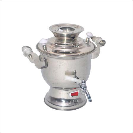 Steel Samovar and Teapot