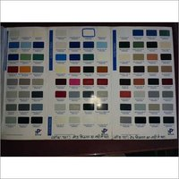 Powder Coating Shade Card