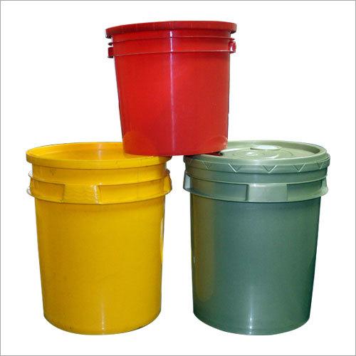 Plastic Lubricant Paint Bucket
