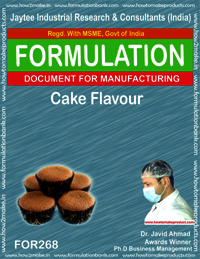 Cake flavour making