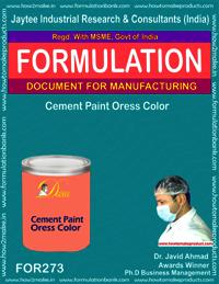 Cement Paint Oress Colour
