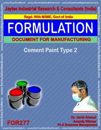 Cement Paint Type 1