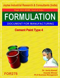 Cement paint Type 4