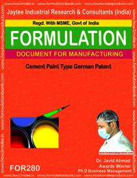 Cement paint Type 6