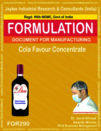 Coca cola flavor concentrate
