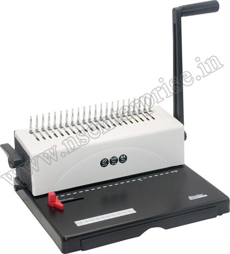 Comb Binding S9025A Machine