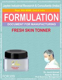 Formula of fresh skin toner