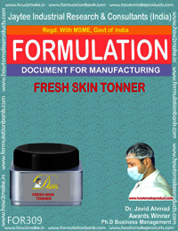 Formula of fresh skin toner
