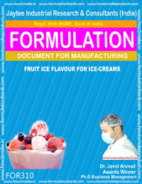 Ice Cream Recipes Formulations