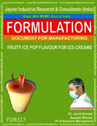Fruit ice-pop up flavor for ice cream