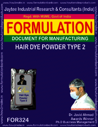 Hair dye powder type 2
