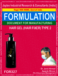 Hair fixer gel Type 2