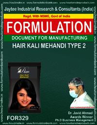 Hair Kali Mehandi type 2