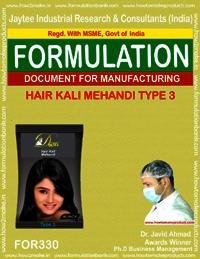 Hair Kali Mehandi type 3
