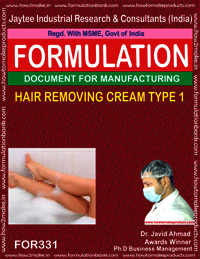 HAIR REMOVING CREAM TYPE 1