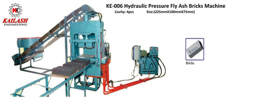 Hydraulic Fly Ash Bricks Machine