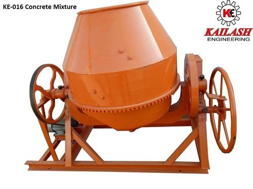 Concrete Mixer Machine Capacity: 1 T/Hr