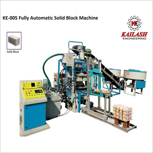 Automatic Solid Block Machine