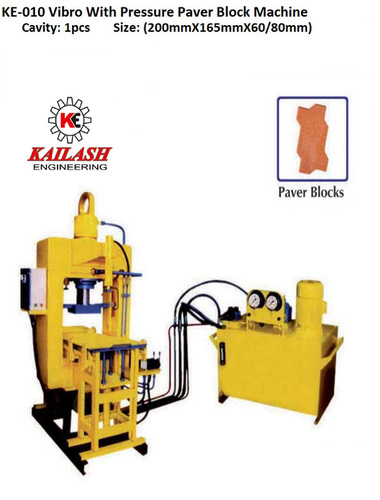 Pressure Paver Block Machine