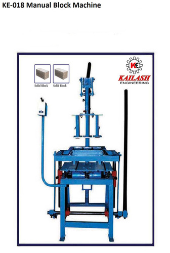 Manual Solid Block Machine
