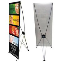 L Type Promotional Standees