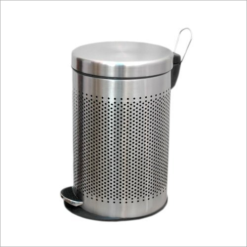 Peddle Perforated Dust Bin