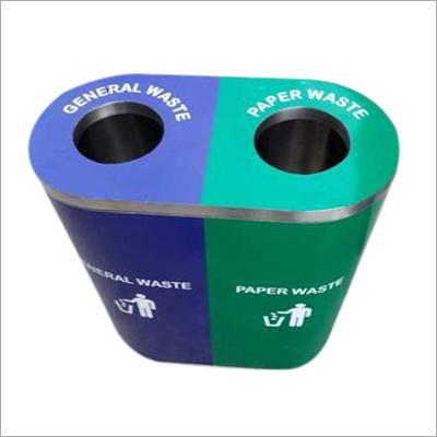 SS Paper Waste Dustbin