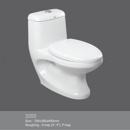 White One Piece Toilet
