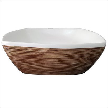 Designer Art Wash Basin Clay