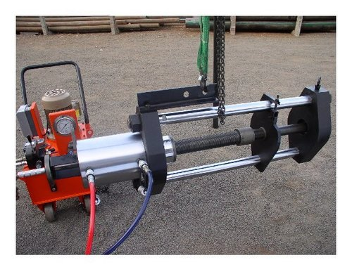 150 Tons Hydraulic Tie Rod Type Pin Pusher