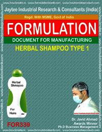 Herbal shampoo type 1