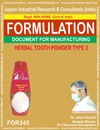 Herbal Health Product Formula's