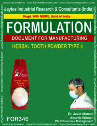Herbal tooth powder type 4
