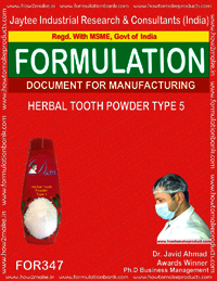 Herbal tooth powder type 5